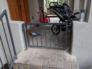 Front porch gate