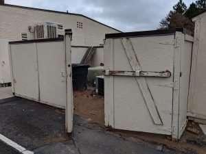 Trash Enclosure pre work