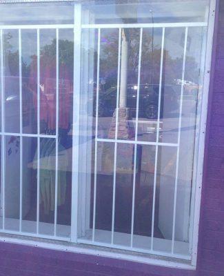 Business window guard
