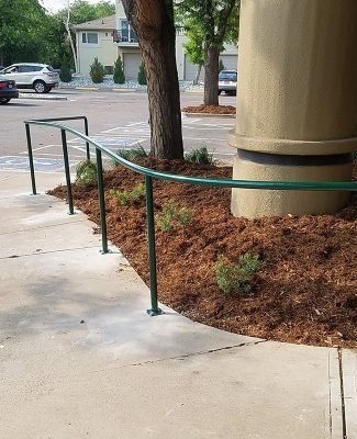 Commercial hand rail Cherry Creekc