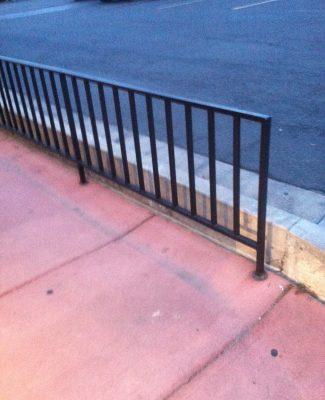Commercial railing long