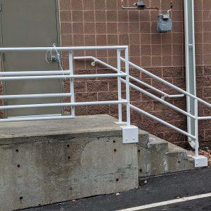 Dock rail rehab complete