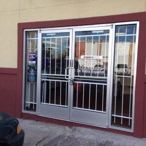Retail store door guards