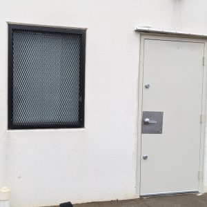 Window guard Mesh w harden door